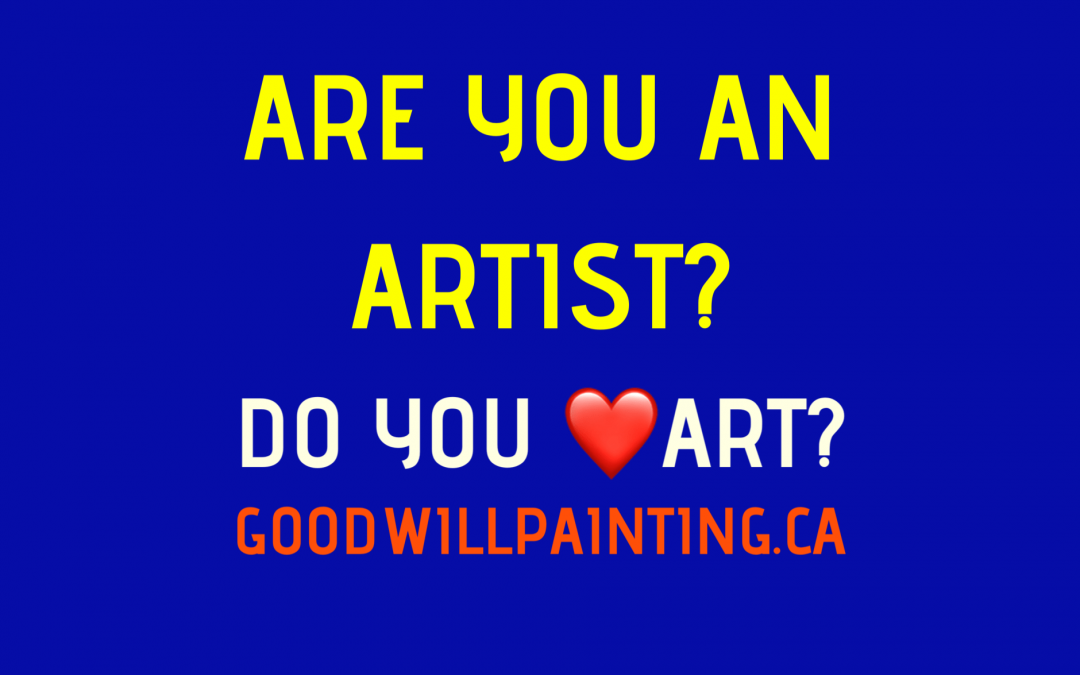 Calling all artists and art lovers!